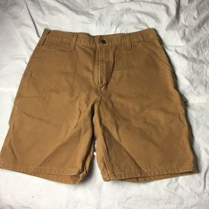 CARHARTT Duck Canvas Work Shorts Dungaree Fit